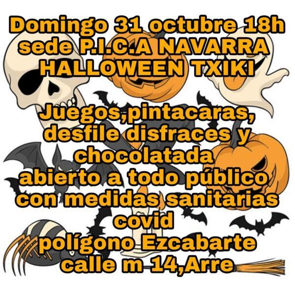 cartel-halloween-txiki-PICA-Navarra